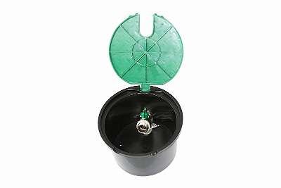Ventilbox rund mit Kugelhahn