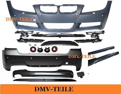 Bodykit Stoßstange ABS Komplett SRA/ PDC passt für BMW E90 05-08 Serie & M-Paket