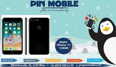 Apple iPhone 7 Plus 128GB Jetblack   Offen für alle Netze   Gebraucht