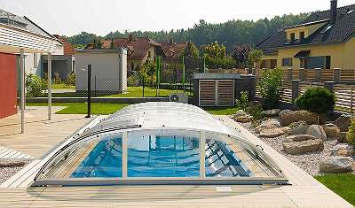 Pool Schwimmbad Überdachungen Abdeckungen