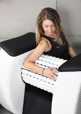 NEU Infrarot Rollenmassagegerät Rollenmassage Massagegerät mit Infrarot - Touch Screen