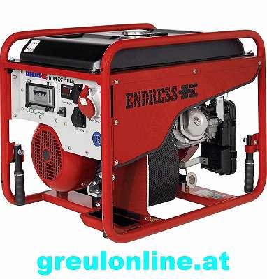 ENDRESS, ESE 606 DHG-GT ES ISO DUPLEX, 113556, 4 TAKT MOTOR, NOTSTROM, GENERATOR, FÜR DIE HAUSEINSPEISUNG, GRATIS VERSAND