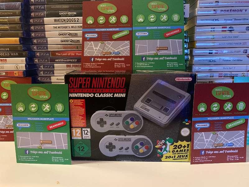 Super Nintendo Classic Mini NEU OVP inkl. Rechnung!