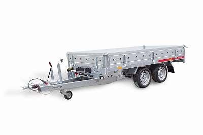 PKW Anhänger, Universal Kippanhänger TIPPER 2515/2 C S 2000 kg (Elektro- u. Handpumpe)