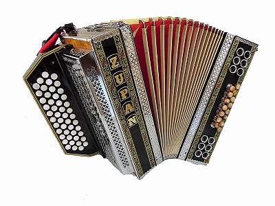 Steirische Harmonika Zupan Alpe IV-D in BEsAsDes