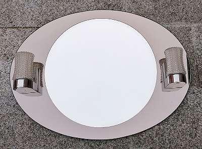 Design Badezimmerspiegel 60/70er