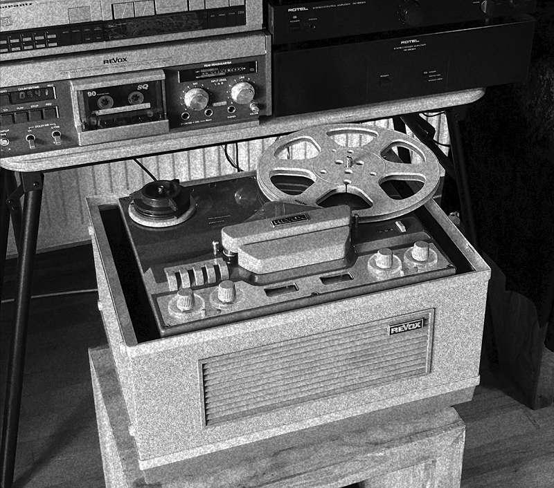 Analog-Audio-Optimierungsservice vor Ort