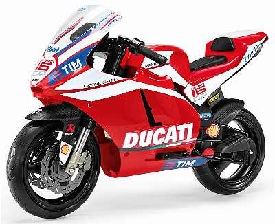 Peg Perego Ducati GP Kinder Elektromotorrad kostenloser Versand innerhalb Österreichs
