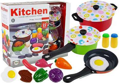 Kinder Kochtopf Set neu