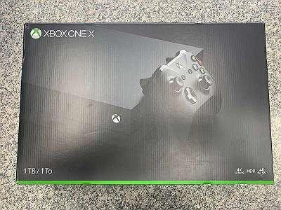 Xbox One X inkl. Spiel u. Rechnung!