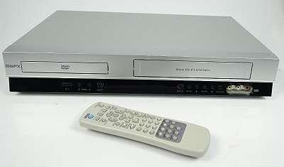 GPX VCD 1640 6-HEAD VHS VIDEORECORDER / DVD PLAYER + FERNBEDIENUNG KOMBIGERÄT