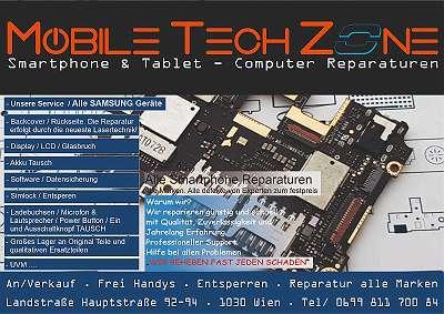 Samsung Galaxy LCD Display + Touch Reparatur / QUALITÄT / GARANTIE / Express Service von Experten Ab 69, - ?