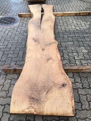 Eiche Schnittholz Eichenholz Bohlen Diele Tischplatte Nr. 26
