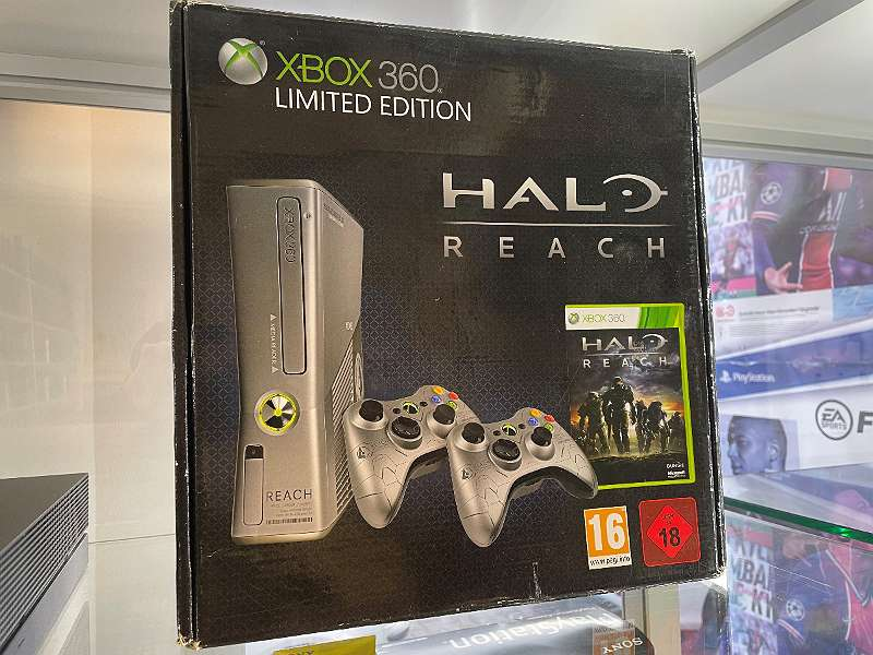 Xbox 360 Slim Halo Reach Limited Edition OVP! inkl. Rechnung u. Garantie!