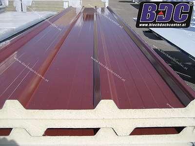 Dach Sandwichplatten / Sandwichpaneel PIR – 40 mm