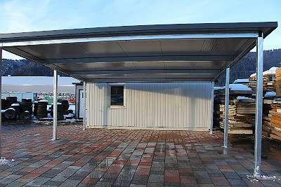 Carport Metall Sandwichpaneele
