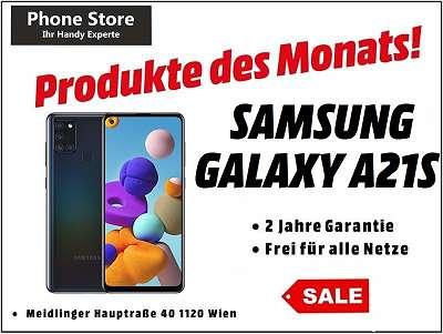 Samsung Galaxy A21S Duos Schwarz / 32GB / Nagelneu, Org. Versiegelt/ Werksoffen, Frei Für Alle Simkarten/ Mit 24 Monate Hersteller Garantie