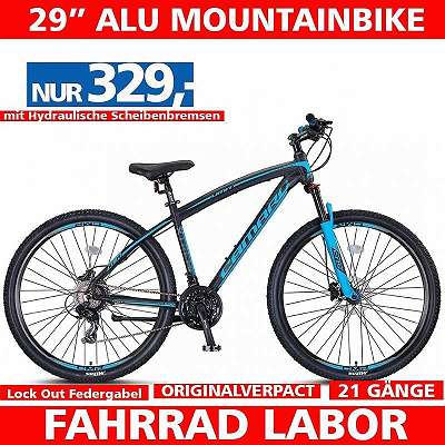 Neues 29 Zoll Mountainbike - 21 Shimano Gänge - Alu Rahmen