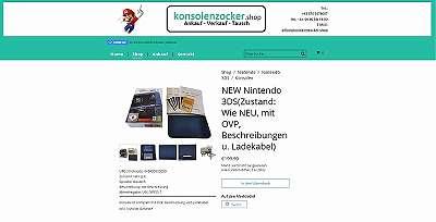 New Nintendo 3DS (Neuwertig)