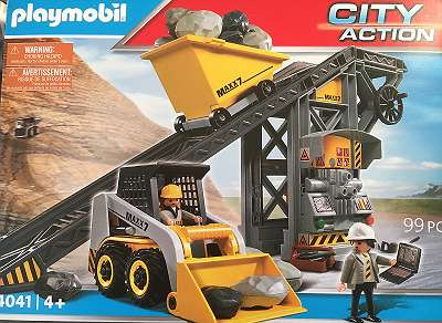 playmobil baustelle city action 4041