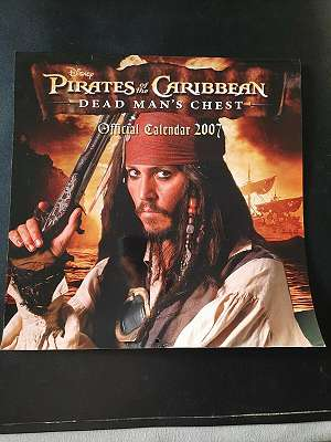 Pirates Of The Caribbean - Official Kalender 2007 - Johnny Depp