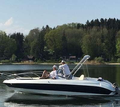 Sundeck 630 mit Kabine Motorboot / Elektroboot