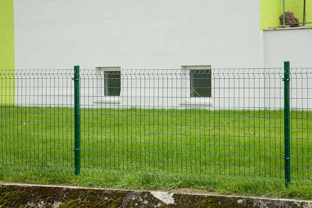 Gartenzaun Gitterzaun Zaunfeld Emu 4 4 Mm Farbe Grun Hohe 202 5