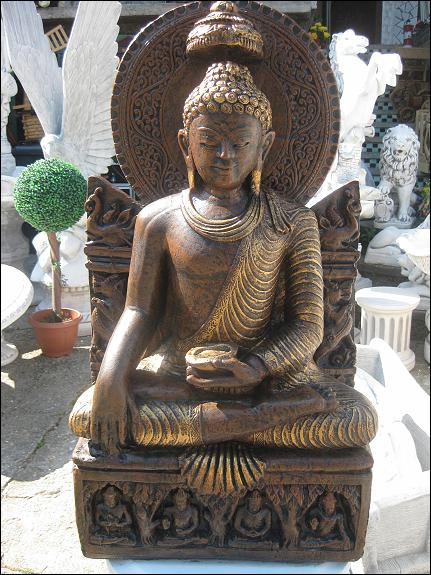 Buddha Xxl 230 Kg Steinfigur Massiv Feng Shui Japanischer