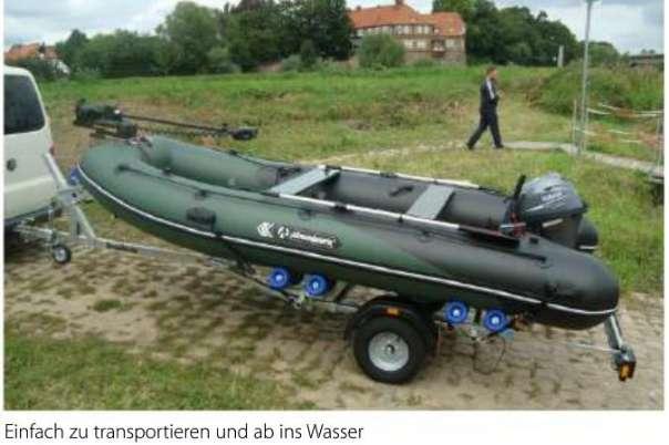 NEU Original Allroundmarin 380 Schlauchboot Mit Aluboden