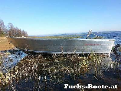 400S Aluboot Aluminiumboot Marine Boote Fischerboot Angelboot Ruderboot Fuchs-Boote