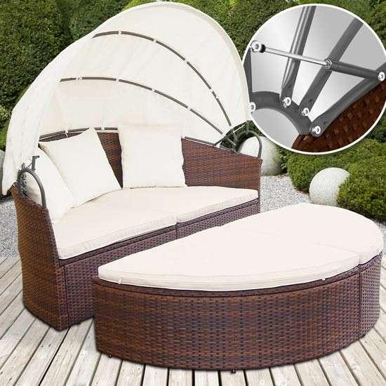 Gartenmobel Teak Mit Edelstahl :  Rattan Lounge NEU Model Julia, € 349, (4882 Oberwang)  willhaben
