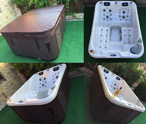 jacuzzi outdoorpool pool whirlpool bali eco 3 personen 7471 rechnitz willhaben. Black Bedroom Furniture Sets. Home Design Ideas