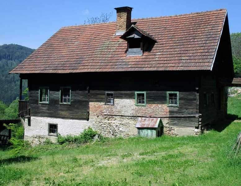 Für Liebhaber: Altes Bauernhaus Zum Abtragen OHNE Grund