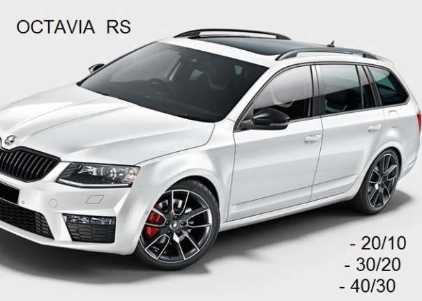 skoda octavia rs 5e tuning sportfedern h r 28833 1 30 25. Black Bedroom Furniture Sets. Home Design Ideas