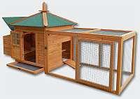 Hühnerstall Kaninchen - NEU - Hasenstall - Kleintierstall Nagerkäfig Hühnerkäfig