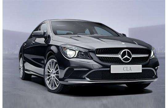 mercedes benz cla klasse cla180dcoup kompakt. Black Bedroom Furniture Sets. Home Design Ideas