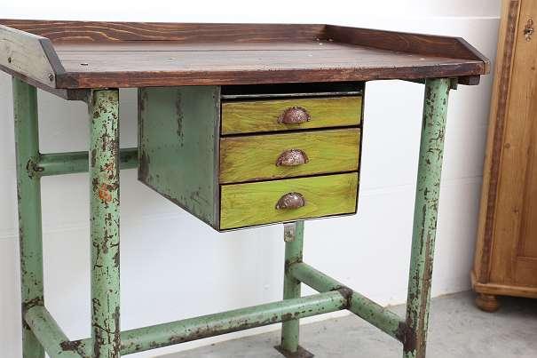 Industrial Tisch vintage werkbank industrial tisch 640 4600 wels willhaben