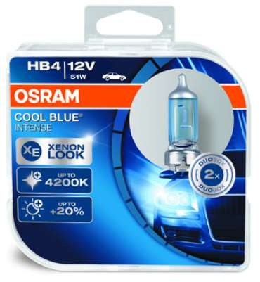 osram cool blue intense h1 h4 h7 h8 h11 hb4 12v 55 51 w 17 90 4020 linz willhaben. Black Bedroom Furniture Sets. Home Design Ideas
