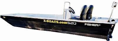 HY 520 KINGFISHER S. C. (Steuerstand + mehr) Wallerboot, Fischerboot; Motorboot Angelboot