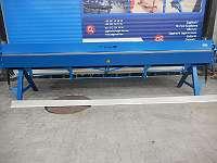 Abkantbank Kantbank Biegemaschine 4140/0.8mm mit Rollenschere Abkantmaschine