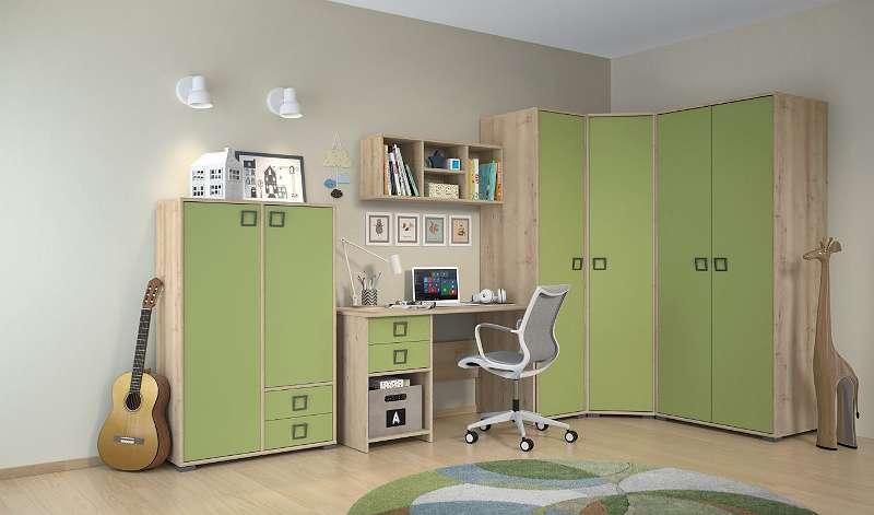 Kinderzimmer Komplett Set R Benjamin 6 Teilig Farbe Buche