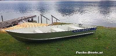 Aluboot Aluminiumboot Alu Boot Angelboot Ruderboot Motorboot Fischerboot Marine M14