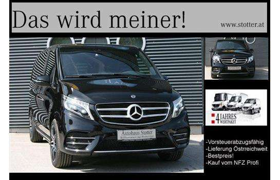 mercedes benz v klasse v 250 d 4matic kompakt aut kombi family van willhaben. Black Bedroom Furniture Sets. Home Design Ideas