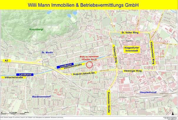 Reserviert Buro 93 M Im 2 Og Mit 3 Parkplatzen Klagenfurt