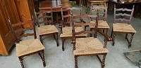 spanische Stilstühle 6er Set 1966-Liebe Kunden, lt. WKO dürfen wir auch jetzt unseren Lieferservice unter Einhaltung der Vorsichtsmaßnahmen anbieten! -Über 400 weitere Artikel im Willhaben Shop unter