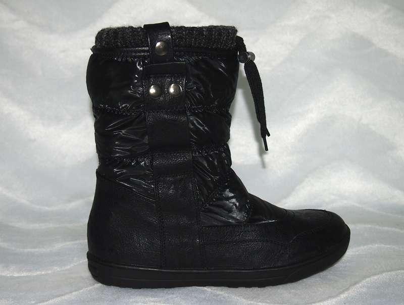 Damen Winter Stiefel   Stiefeletten Schneestiefel   gefüttert Farben   schwarz  amp  grau Größen  1f4537ea84