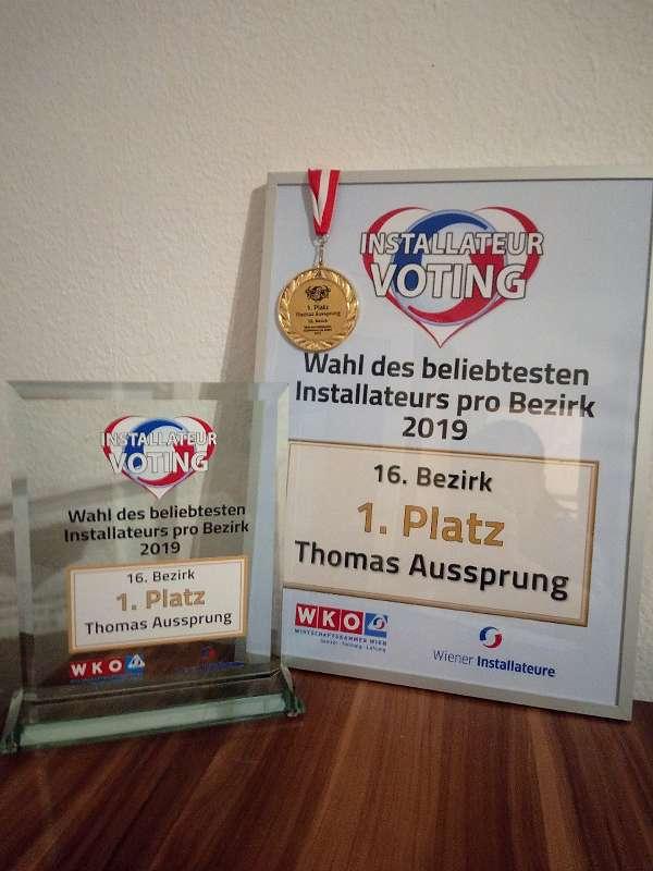 Thomas Aussprung Gas Wasser Heizung Installateur-Beliebtester Installateur in Wien Ottakring