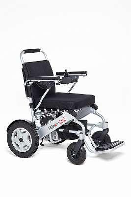 faltbarere Elektro-Rollstuhl FreedamChair A06L, leicht, wendig