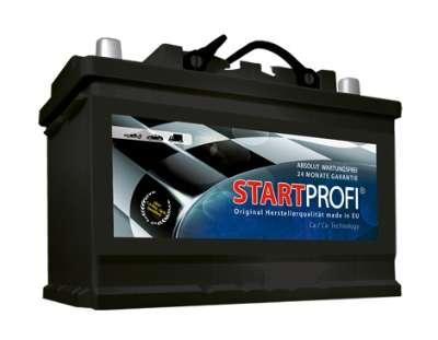 75AH Startprofi-Batterie zum Aktionspreis