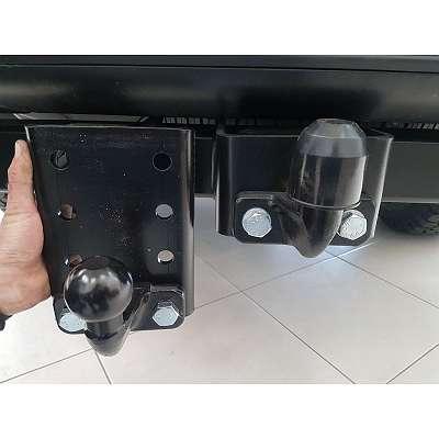 Anhängervorrichtung Adapterplatte / Absenkhilfe / Kugelverstellplatte mit TÜV Ford Ranger